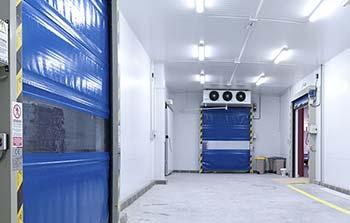 Caja de refrigeración para industria alimentaria