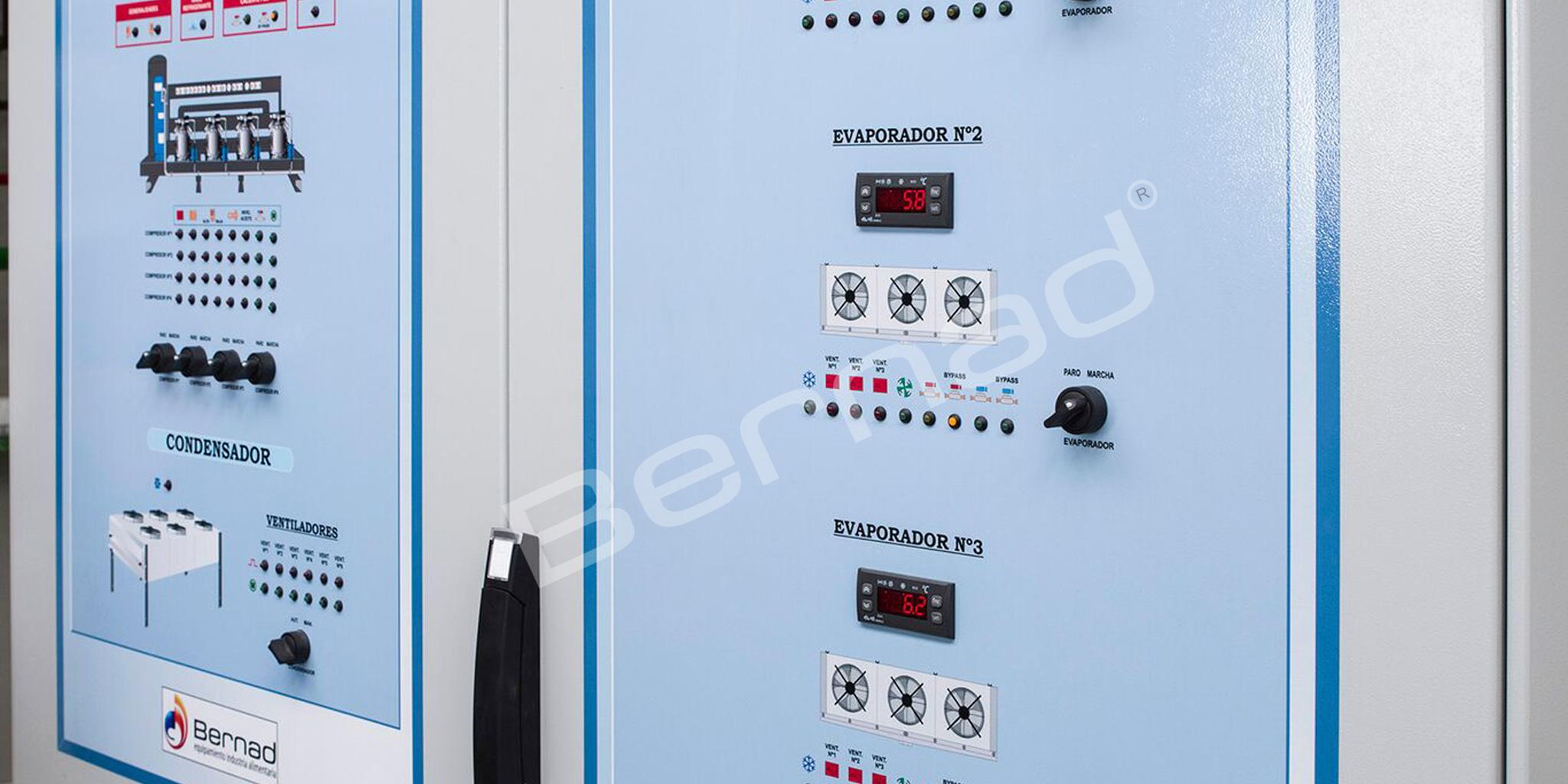 Cámara de congelación Bernad con evaporador