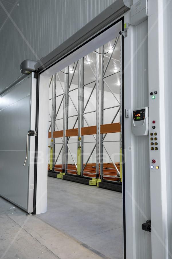 control energético y eficiencia de camaras de congelación
