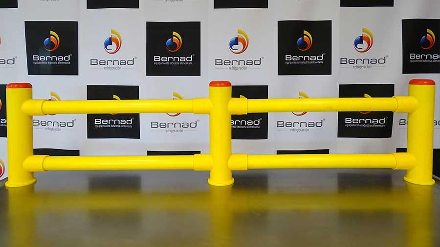 Bolardos y barreras de seguridad para proteger las instalaciones